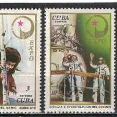 Sellos: CUBA 1976 SOVIET SCIENCE AND TECHNOLOGY MLH - THE SCIENCE, AIRCRAFT, SCIENCE AND TECHNOLOGY, SPACE. Lote 241635935