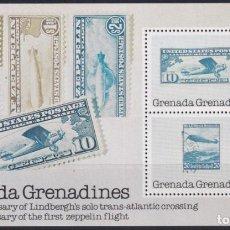 Sellos: F-EX22691 GRENADA & GRENADINES MNH SHEET 1978 50 ANIV LINDBERGHT FLIG. Lote 244621795