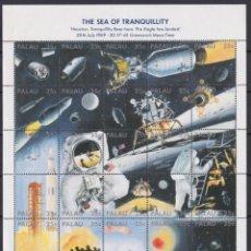 Sellos: F-EX20045 PALAU MNH 1989 20TH APOLLO MISSION MOON LANDING ASTRONAUTICS COSMOS. Lote 244621935