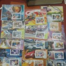 Sellos: HB (20) R. GUINEA MTDOS/2008/COLECCION/TRANSPORTE/ESPACIO/TRENES/BARCOS/COCHES/AUTOMOVILES/ANIMALES/. Lote 253336900