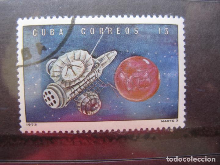 CUBA, 1973, MARS 3, YVERT 1670 (Sellos - Temáticas - Conquista del Espacio)