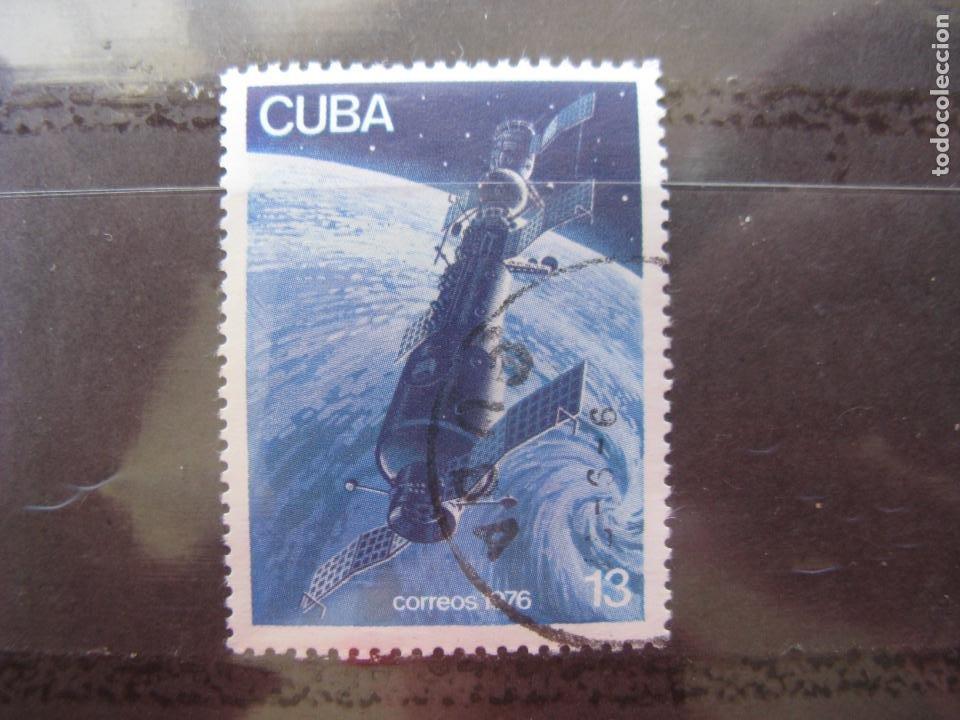 *CUBA, 1976, SALIOUT Y SOYOUZ 11 EN ORBITA, YVERT 1924 (Sellos - Temáticas - Conquista del Espacio)