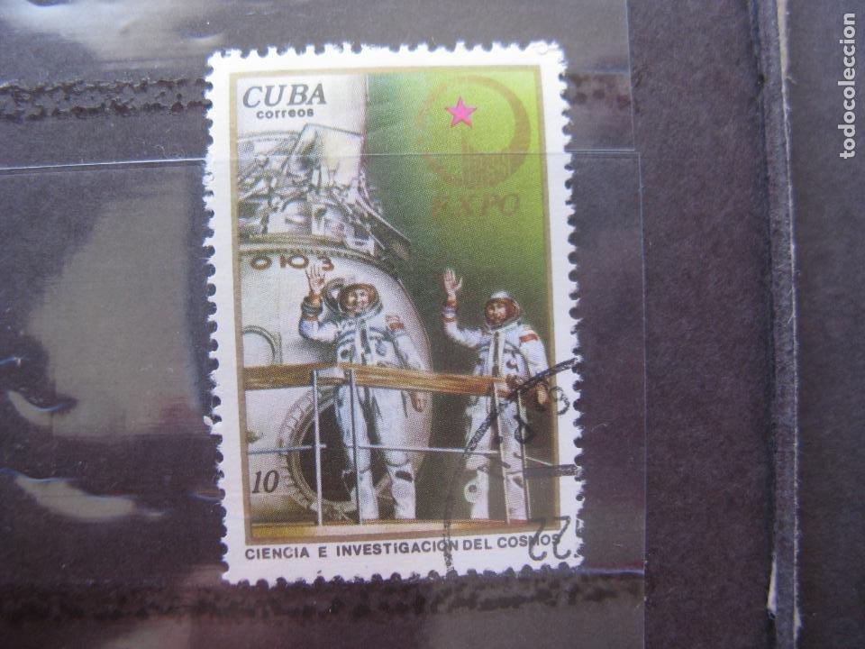 *CUBA, 1976, EXPO-76, CIENCIA E INVESTIGACION DEL COSMOS, YVERT 1946 (Sellos - Temáticas - Conquista del Espacio)