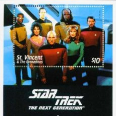 Sellos: SELLOS ST. VINCENT & THE GRENADINES 1994 STAR TREK THE NEXT GENERATION. Lote 256037420