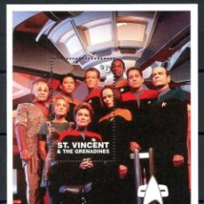 Sellos: SELLOS ST. VINCENT & THE GRENADINES 1997 STAR TREK VOYAGER. Lote 256037755