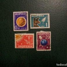 Francobolli: /16.05/-LIQUIDACION-ALBANIA-1962-SERIE COMPLETA EN USADO/º/. Lote 263181925