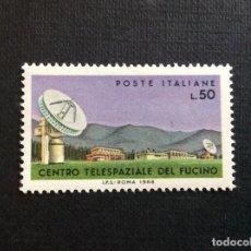 Sellos: ITALIA Nº YVERT 1030*** AÑO 1968 CENTRO ESPACIAL DE FUCINO. Lote 264831549