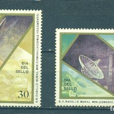Sellos: ⚡ DISCOUNT CUBA 1991 STAMP DAY MNH - SPACE, STAMP DAY, SPACESHIPS. Lote 266194913