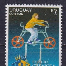 Sellos: ⚡ DISCOUNT URUGUAY 1999 SPACE SCIENCE VISITOR CENTRE MNH - SPACE, THE SCIENCE, SCIENCE AND T. Lote 266258318