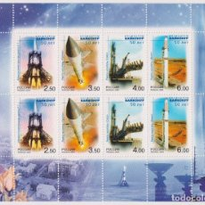 Sellos: ⚡ DISCOUNT RUSSIA 2004 50TH ANNIVERSARY OF THE BAIKONUR COSMODROME MNH - SPACESHIPS. Lote 266301368