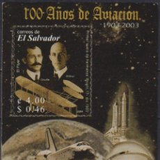 Sellos: ⚡ DISCOUNT SALVADOR 2004 THE 100TH ANNIVERSARY OF POWERED FLIGHT - AVIATION PIONEERS MNH - S. Lote 266341668