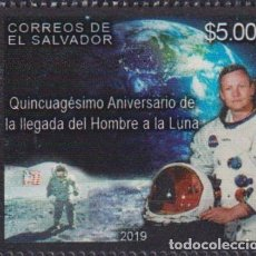 Sellos: ⚡ DISCOUNT SALVADOR 2019 50TH ANNIVERSARY OF THE MOON LANDING MNH - SPACE. Lote 267407634