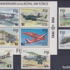 Sellos: F-EX26453 FIJI MNH 1993 WWII AVION AIRPLANE 75TH ANIV ROYAL AIR FORCE.. Lote 270543618