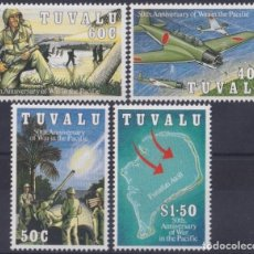 Sellos: F-EX26458 TUVALU MNH 1993 WWII AVION AIRPLANE 50TH ANIV WAR IN THE PACIFIC.. Lote 270543638