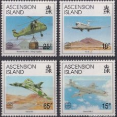 Sellos: F-EX26460 ASCENSION MNH 1995 HELICOPTER AVION AIRPLANE.. Lote 270543653