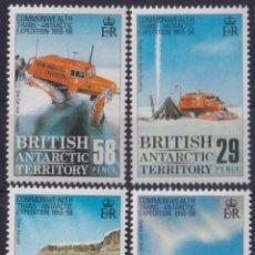 Sellos: F-EX26464 BRITISH ANTARCTIC POLAR MNH 1988 ANTARCTIC EXPEDITION AVION AIRPLANE.. Lote 270543678