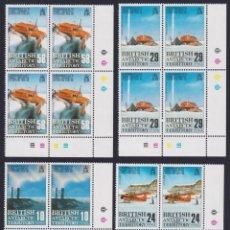 Sellos: F-EX26466 BRITISH ANTARCTIC POLAR MNH 1988 EXPEDITION AVION AIRPLANE. BLOCK 4.. Lote 270543683