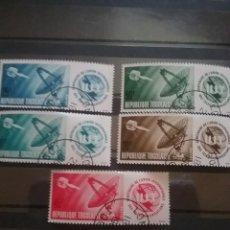 Timbres: SELLO TOGO (TOGOLAISE)MTDO/1965/CENTENARIO/UNION/INTERN/TELECOMUNICACIONES/SATELITE/ESPACIO/ANTENA/N. Lote 276025263