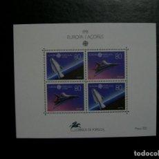 Timbres: /18.07/-AZORES-1991-BLOQUE EN NUEVO(**MNH)-ESPACIO. Lote 276132678