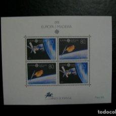 Timbres: /18.07/-MADEIRA-1991-BLOQUE EN NUEVO(**MNH)-ESPACIO. Lote 276132818