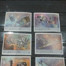 Sellos: SELLO MOZAMBIQUE NUEVO/2009/TRANSPORTE/ESPACIO/COSMOS/NAVES/SATELITES/LANZADERA/COHETE/TRANSBORDADOR. Lote 276740503