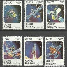 Sellos: GUINEA 1983 LOTE SELLOS TEMATICA CONQUISTA DEL ESPACIO. Lote 277045438