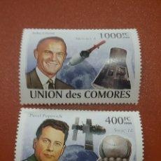 Sellos: SELLO COMORAS (I. COMORES) NUEVO/2008/ASTRONAUTAS/ESPACIO/COSMOS/VIAJES/ASTROS/NAVES/TRANSBORDADOR. Lote 277062028