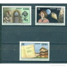 Sellos: ⚡ DISCOUNT CUBA 1973 THE 500TH ANNIVERSARY OF THE BIRTH OF COPERNICUS MNH - SPACE, SCIENTIST. Lote 278521983