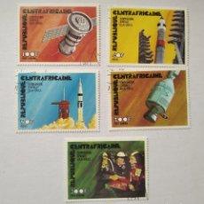 Sellos: 5 SELLOS REPUBLICA CENTRO ÁFRICA AÑO 1976 CONQUISTA ESPACIO. Lote 285556088