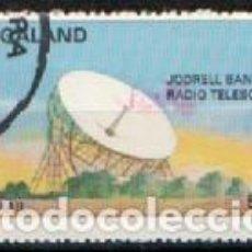 Sellos: NAGALAND, VIAJES ESPACIALES, RADIO TELESCOPIO JODRELL BANK, USADO. Lote 287936463