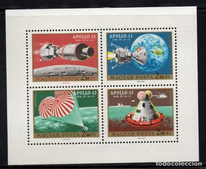 HUNGRIA AEREO 326** - AÑO 1970 - CONQUISTA DEL ESPACIO - APOLO 13 (Sellos - Temáticas - Conquista del Espacio)