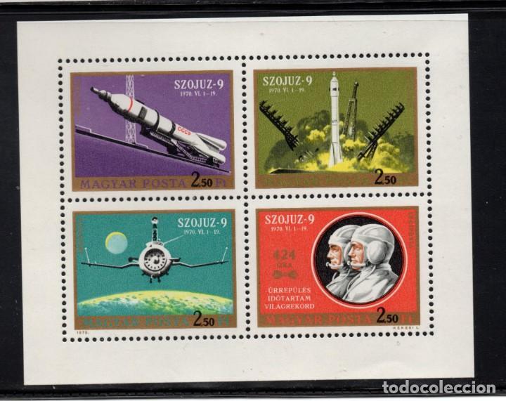 HUNGRIA AEREO 333/36** - AÑO 1970 - CONQUISTA DEL ESPACIO - SOYUZ 9 (Sellos - Temáticas - Conquista del Espacio)