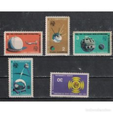 Sellos: ⚡ DISCOUNT CUBA 1965 THE 100TH ANNIVERSARY OF I.T.U NG - SPACESHIPS. Lote 289948678