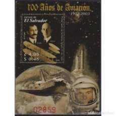 Sellos: ⚡ DISCOUNT SALVADOR 2004 THE 100TH ANNIVERSARY OF POWERED FLIGHT - AVIATION PIONEERS MNH - S. Lote 289985178