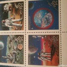 Sellos: SELLO RUSIA (URSS.CCCP) NUEVO/1990/EXP/FILATELIA/INTER/WASHINGTON/ESPACIO/VIAJES/LUNA/ASTRONAUTA/SAT. Lote 295630543