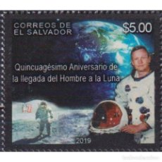 Sellos: ⚡ DISCOUNT SALVADOR 2019 50TH ANNIVERSARY OF THE MOON LANDING MNH - SPACE. Lote 296063218