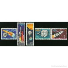 Sellos: ⚡ DISCOUNT MONGOLIA 1963 ASTRONAUTS MNH - SPACESHIPS. Lote 297138983