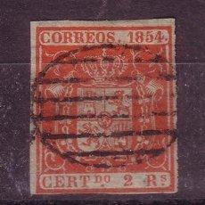 Sellos: ESPAÑA EDIFIL 25 - AÑO 1854 - ESCUDO DE ESPAÑA. Lote 26495190