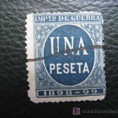 Sellos: 1897 IMPUESTO DE GUERRA. Lote 8245655