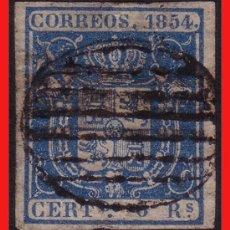 Sellos: 1854 ESCUDO DE ESPAÑA Nº 27 (O) . Lote 9154004