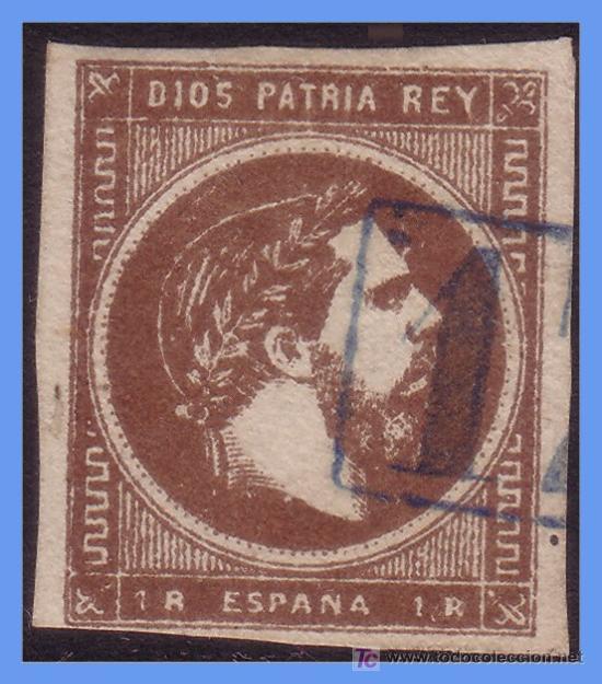 1875 CORREO CARLISTA Nº 161 (O) CORREO CARLISTA VASCONGADAS Y NAVARRA (Sellos - España - Otros Clásicos de 1.850 a 1.885 - Usados)