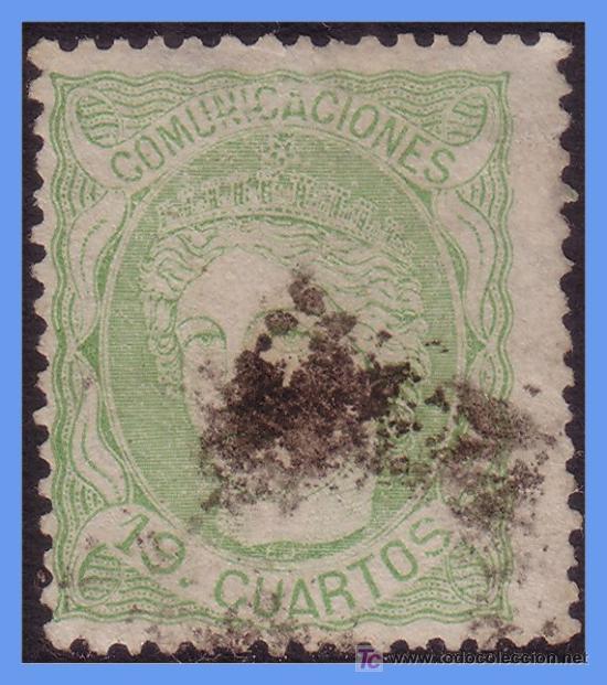 1870 GOBIERNO PROVISIONAL, Nº 114 (O) (Sellos - España - Otros Clásicos de 1.850 a 1.885 - Usados)