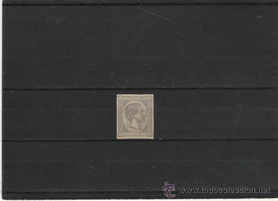 PRIMER CENTENARIO DE ESPAÑA Nº 168 SIN DENTAR (Sellos - España - Otros Clásicos de 1.850 a 1.885 - Usados)