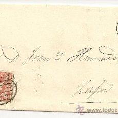 Sellos: ESPAÑA. CARTA DE TRUJILLO A ZAFRA DE 1857.. Lote 10892145