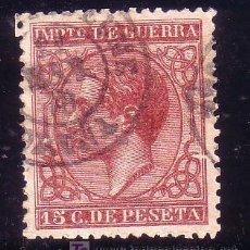 Sellos: CORUÑA.- MATASELLO FECHADOR TIPO I DE PUENTEDEUME SOBRE SELLO 188 IMPUESTO DE GUERRA . Lote 13245631