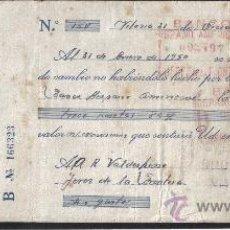 Sellos: ALAVA, 0,90 PTAS IMPTO PROVINCIAL DEL TIMBRE , DICIEMBRE 1949, ESPECIAL MOVIL 15 CTS VERDE ,VER FOTO. Lote 26927680