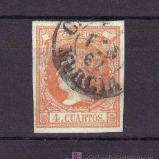 Sellos: ESPAÑA 52 USADA, MATASELLO FECHADOR TIPO I. Lote 15486048