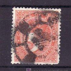 Sellos: ESPAÑA 89A USADA, MATASELLO RUEDA DE CARRETA, COLOR NARANJA. Lote 19204710
