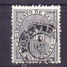 Sellos: ESPAÑA 141 USADA, MATASELLO FECHADOR . Lote 15613275