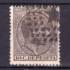 Sellos: ESPAÑA 192 USADA, MATASELLO ROMBO DE PUNTOS CON ESTRELLA . Lote 15581796